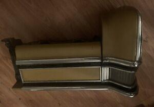 1973 1974 Mercury Marquis Header Headlight Door  Fender Extension LH FRONT UNIT