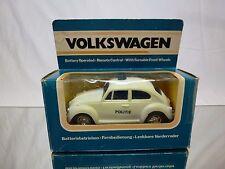PLASTIC VW VOLKSWAGEN BEETLE  - POLICE POLITIE - RC - RARE - GOOD IN BOX