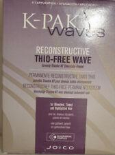 K-PAK onde PERM RICOSTRUTTIVA TIO-FREE WAVE sbiancato-colorata-evidenziato - 2 PZ