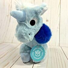 The Manhattan Toy Floppies Blue Unicorn Plush New With Tag