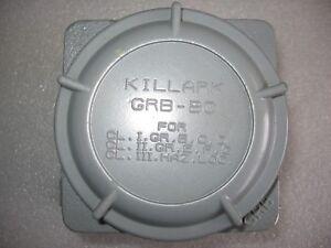 Killark GRBP Aluminum Enclosure Explosion Proof Hazardous Locations w/Pan 45 ci.