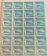 1960 1-1/4c Palace of the Governors FDC US Postage Stamp 20 Stamp Sheet