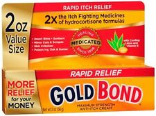 Gold Bond Medicated Anti-Itch Cream Maximum Strength 2 oz