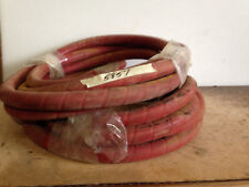 Hydraulic Hoses Wire Braided Red Color Still in Wrapping