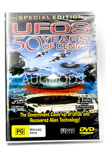 UFOs 50 Years of Denial Special Edition Documentary Sci Fi Conspiracy Alien DVD
