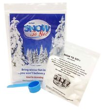 Fake Artificial Fluffy Snow Powder Instant Snow To Go Decor 1 GAL-Just Add Wat