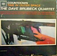 The Dave Brubeck Quartet-Countdown Time In Outer Space-LP-1962-VG+/VG+