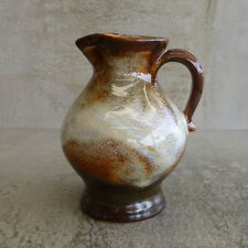 Vintage Gmundner Keramik Pottery Vase Jug Austria with original sticker 13.3cm
