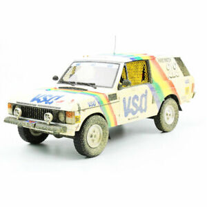 1:18 1981 Paris-Dakar Rally - Range Rover - Rene Metge/Bernard Giroux -Dirty Ver