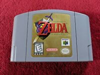 The Legend of Zelda: Ocarina of Time N64 Nintendo 64 TESTED USA Great Condition
