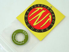 TNT Alloy Cassette Lockring Anodized Green For Shimano Hg 12T Cog USA NOS