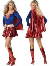 Costume Superwoman Hero for Women Halloween Carnival (8349)
