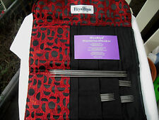 HiyaHiya Sock Size Sharp Steel Double Point Knitting Needles Set