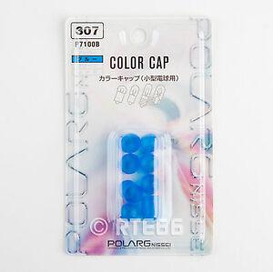 Polarg P7100B (307) 194 168 Bulb Color Cap Blue Set of 8 (10mm dia)