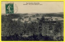 cpa RARE 19 - PALISSE (Corrèze) Vue prise du MASSEPORT en 1911