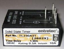 Entrelec TL Series Lockout Timer - 230 VAC - 5 Minutes - TL230A5T HVAC Timer