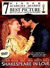 Shakespeare In Love Widescreen Dvd Movie Ben Affleck Gwyneth Paltrow Free Ship