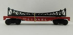 LIONEL 6825 FLAT CAR W/BRIDGE