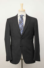 New. CERRUTI 1881 Gray Wool 2 Button Suit Size 56/46 R Drop 7 $795