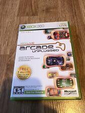Xbox Live Arcade Unplugged Vol. 1 (Microsoft Xbox 360, 2006) Cib Game VC1