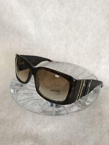 Christian Dior DiorRain 1 Vintage Authentic Sunglasses Swarovski Crystals 086DB