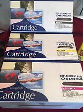 3PK Compatible Q6000A Q6003A Q6002a Color Toner For HP Color LaserJet 1600