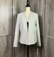 Women's Antonio Melani NWT Very Pretty Khaki & Ivory Blazer MSRP $199.00 Size 12