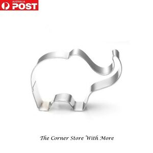 Baby Elephant Cookie Biscuit Cutter Cake NEW 3D biscuit zoo safari africa