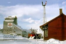 Canadian Pacific Rwy  Snowplow extra  Cookshire  Quebec 1977 v