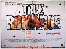 TRUE ROMANCE Affiche Cinéma / Movie Poster TONY SCOTT TARANTINO