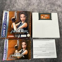 Tomb Raider The Prophecy Nintendo Game Boy Advance GBA Boxed Complete Genuine
