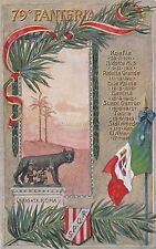 * GUERRA ITALO TURCA - 79° Reggimento Fanteria - Libia 1911-1913