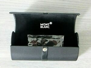 Genuine MontBlanc Eyeglasses/Sunglasses Hard Case w/ Cloth-MINT CONDITION!
