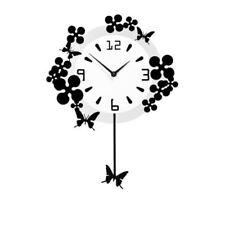 Quartz (Battery Powered) Butterfly Modern Wall Clocks
