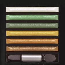 MILANI Metallic Runway Baked Eyeshadow Palette - 05 GLAMOROUS GEMS,Green,Bronze