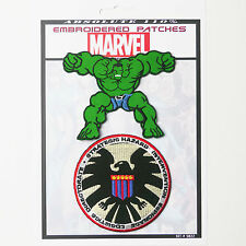 SHIELD Marvel Avengers Hulk Patches Iron-On Patch Super Set #022  FREE POSTAGE