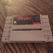 Super Scope 6 - Cart Only Super Nintendo SNES - SN1