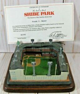 Danbury Mint Shibe Park Stadium Replica  Philadelphia Phillies w/ COA in Box