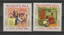 v211 Albanien / Agrarreform   MiNr 1800/01 **