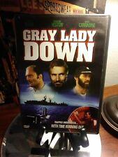 Gray Lady Down (DVD, 2000) Charlton Heston, Stacy Keach, David Carradine - VG