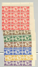 New Caledonia #252-273 22v Blocks of 12