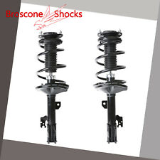 For 2004 2005 2006 2007 Toyota Highlander Front Pair Complete Shocks & Struts