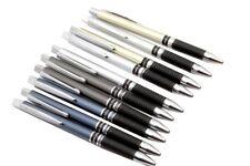 Cello JOTDOT Ball Point Pen Lot Of 10 Pens Rubber Grip + 10 blue ink refills