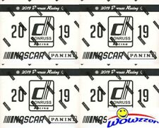 2018 2019 Nascar Racing Blaster 4 Caja Lote PANINI PRIZM DONRUSS pos Hailie DEEGAN