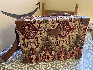 Tapestry Handbag Long Shoulder Strap Hard Case