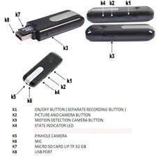 Wireless Hidden HD Mini Camera Motion Detector Security Spy Cam Video Recorder