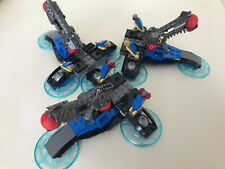 3 LEGO SPACE HEAVY CANNONS - FROM DC SUPERHEROES 76028 6 RED BALLS