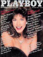 PLAYBOY DECEMBER 1985 Carol Ficatier Barbi Benton Huey Lewis Brooke Shields
