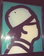 JULIAN OPIE 'Baseball Cap Boy' Art Magnet from 'Korean Portrait Series' **NEW**