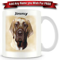 Great Dane - Dog Ceramic Coffee Mug - Personalise for free